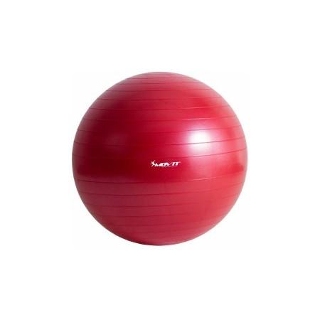Gymball - gymnastický míč včetně pumpičky, červená, 65 cm
