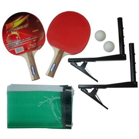 Hrací sada na stolní tenis- pálky včetně síťky