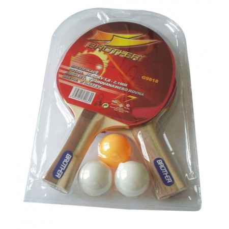 2 pálky na stolní tenis + míčky