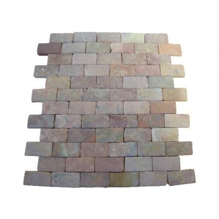 Oblkad - mozaika z přírodního mramoru, 1 m2