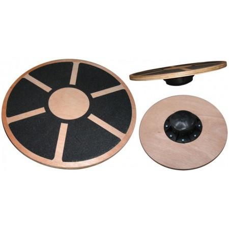 Balanční deska pro cvičení a fitness - dřevěná