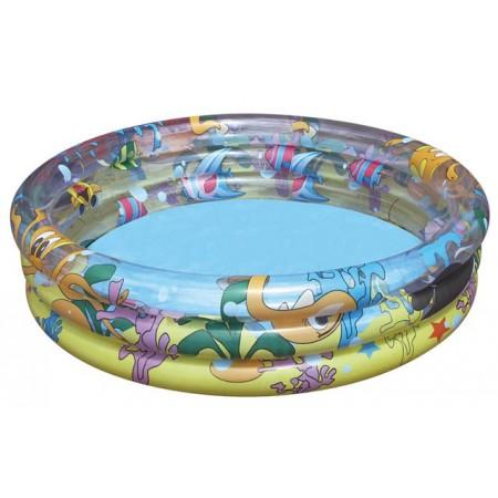 BESTWAY bazén s potiskem 102cm