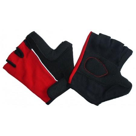 Posilovací rukavice s vyztuženými dlaněmi, vel. M