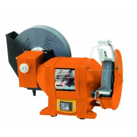 Dvoukotoučová mokrosuchá elektrická bruska230 V, 250 W