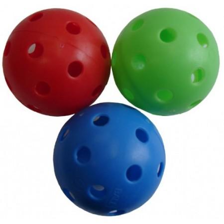 Barevný míček na florbal