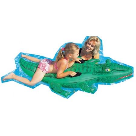 Nafukovací krokodýl na vodu 167 x 89 cm
