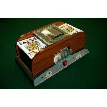 Míchačka karet na baterie, na 2 balíčky karet