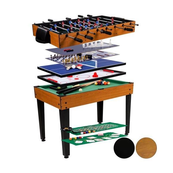 Herní stůl 15 v 1, hrací plocha 101 x 58