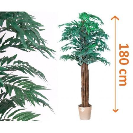 Umělá rostlina jako živá- Palma Areca vysoká 180 cm