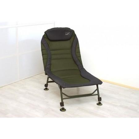 Luxusní kempinková židle s nastavitelným opěradlem