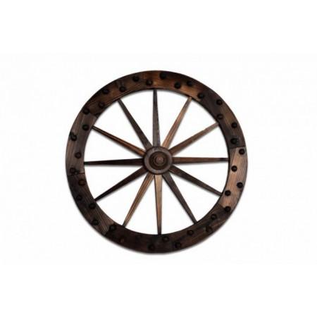 Dřevěná dekorace - kolo od vozu 90 cm