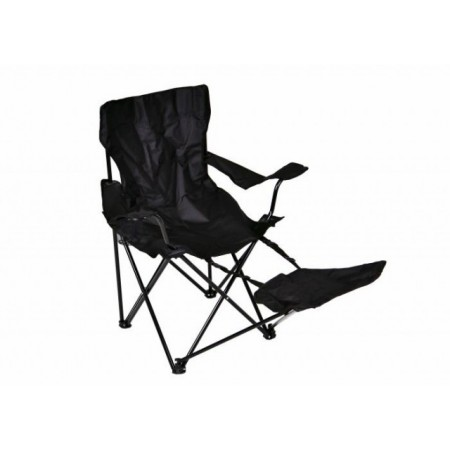 Skládací židle s hliníkovým rámem a textilní výplní