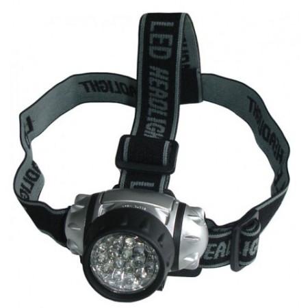 Čelová svítilna - čelovka - na baterie, 21 LED diod
