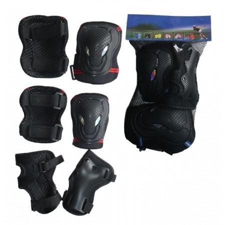 Plastové chrániče  kolen, loktů, zápěstí, vel. XL
