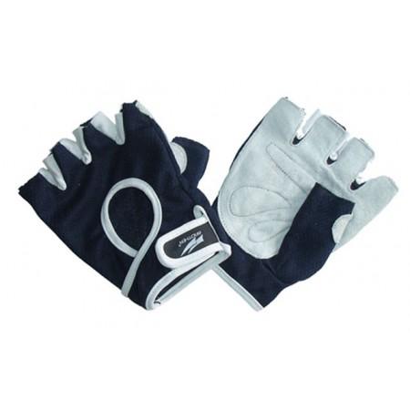 Posilovací rukavice s vyztuženými dlaněmi, vel. S