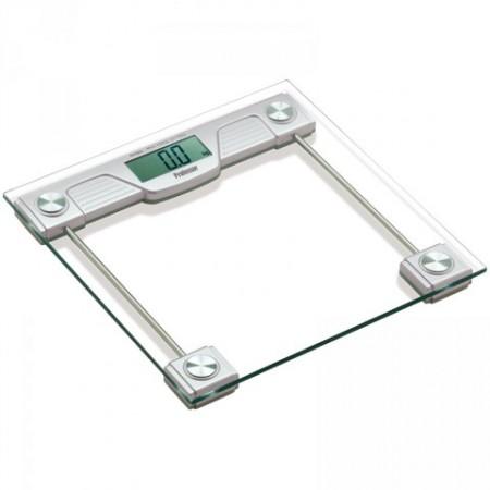 Digitální osobní skleněná váha, LCD displej, nosnost 150 kg