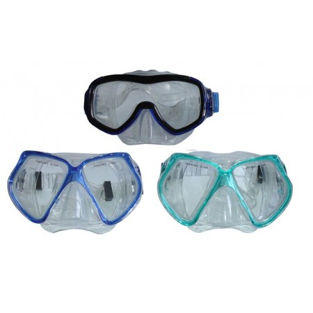 Potápečské brýle s tvrzeným sklem, pro dospělé