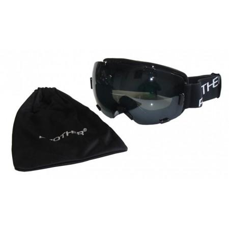 Pánské lyžařské brýle, velký vyklenutý zorník