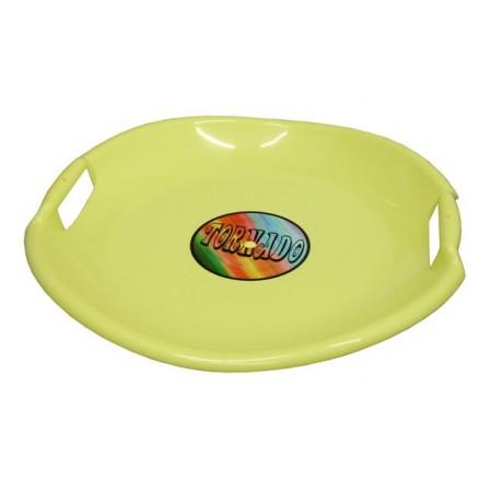 Dětský sáňkovací talíř s úchyty, průměr 54 cm