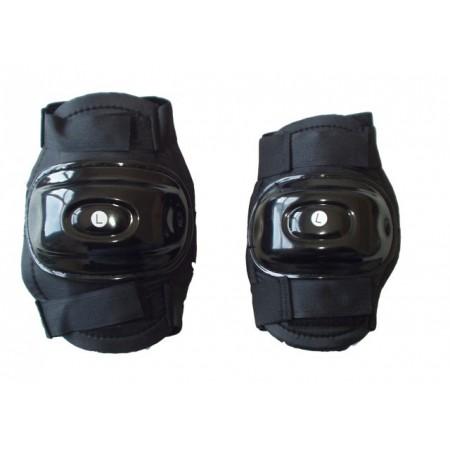 Plastové chrániče na inline brusle, kolena nebo lokty, vel. M