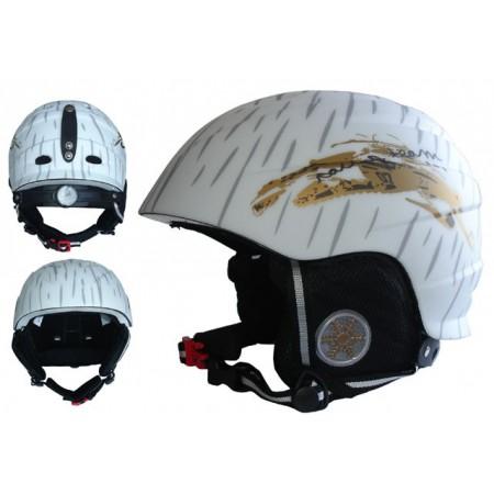 Odlehčená helma na lyže a snowboard, 395 g, vel. L