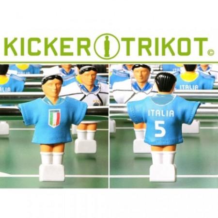 Dresy na figurky pro stolní fotbal, 11 ks, Itállie