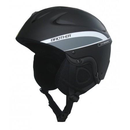 Odlehčená helma na lyže a snowboard, rychloupínací přezka, vel. M