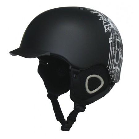 Lžařská a snowboardová freestyle helma s kšiltem, vel. S