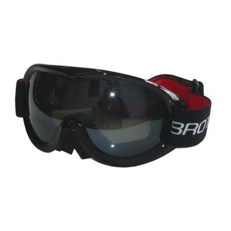 Lyžařské brýle senior, vyklenutý zorník, úprava proti mlžení
