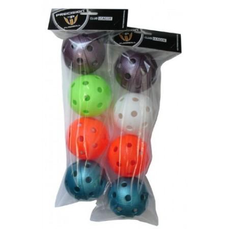 4 ks florbalové certifikované míčky