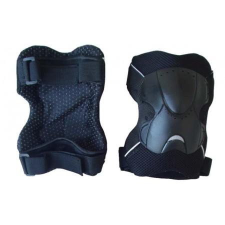 Závodní chrániče kolen / loktů plastové, vel. M