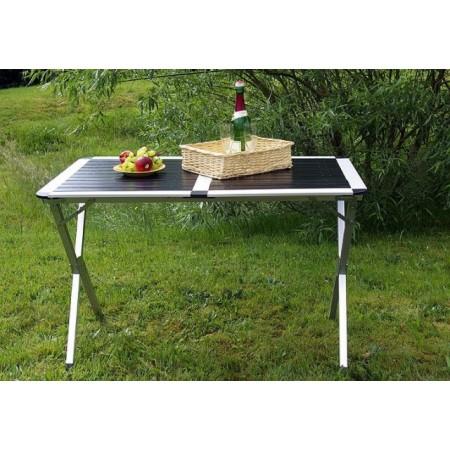 Rozložitelný hliníkový stůl pro kempování, 110 x 70 x 70 cm