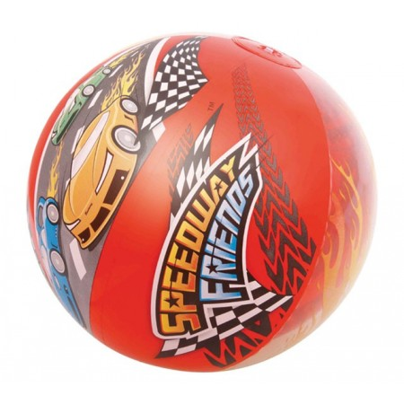Barevný dětský nafukovací míč 51 cm