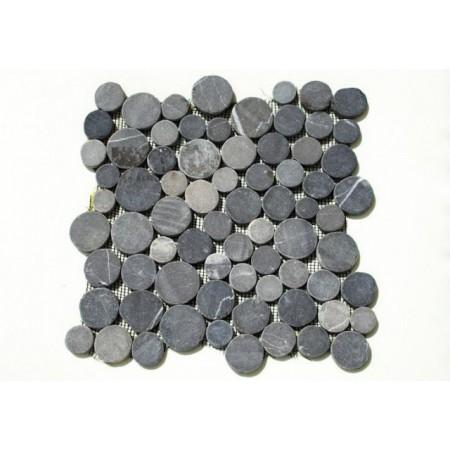 Obklad / dlažba kamenná mozaika - leštěný andezit, 1 ks