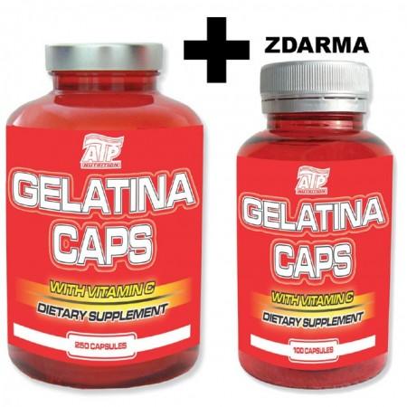 Fitness výživa GELATINA -  250 kusů + 100 kusů ZDARMA