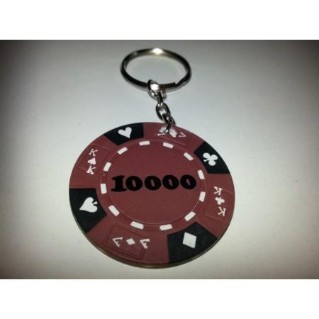 Přívěsek z pokerového žetonu 48 ks