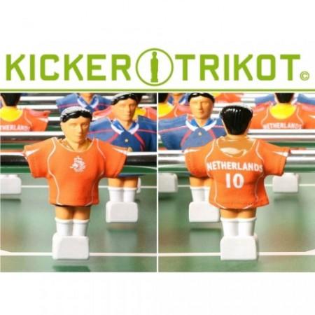 Dresy pro stolní fotbal - 11 ks, Nizozemsko