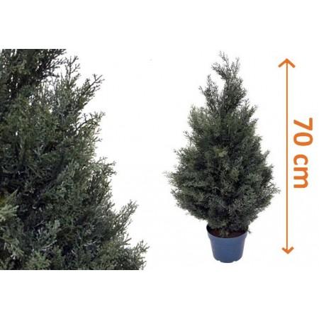 Umělý stromek jako živý, cipřiš 70 cm