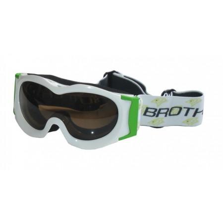 Lyžařské brýle juniorské, vypouklý zorník, antifog úprava
