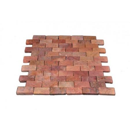 Dlažba / obklad - mozaika z pravého přírodního kamene, 1 ks