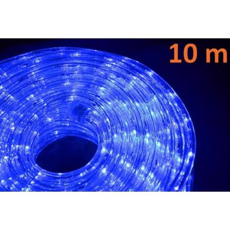 Voděodolný světelný kabel, modrý, délka 10m