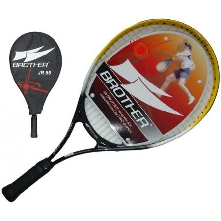 Odlehčená dětská tenisová raketa s pouzdrem, 55 cm