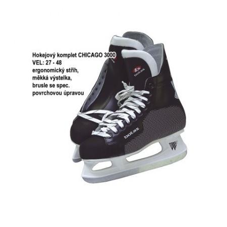 Zimní brusle ergonomického střihu CHICAGO 3000, vel. 37