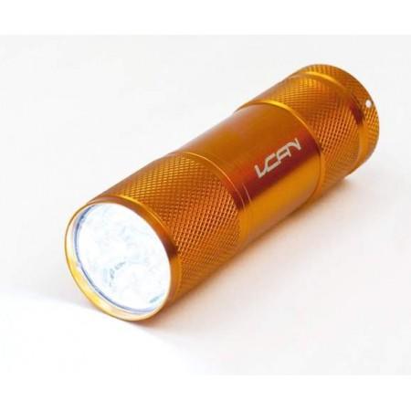 Ruční svítilna na 3 AAA baterie, 9 LED diod