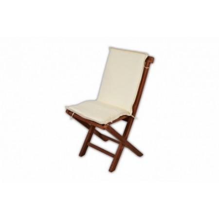 Polstrování na zahradní židle a křesla, snímatelný, pratelný potah, béžové