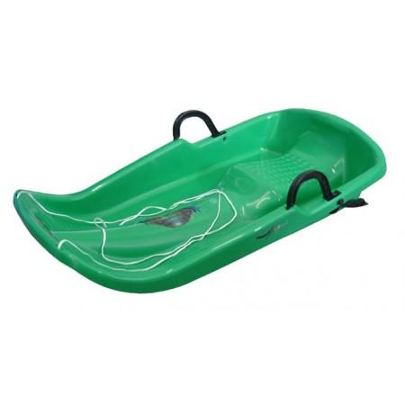 Plastové boby TWISTER, zelené