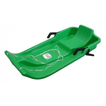 Dětské plastové boby UFO, zelené