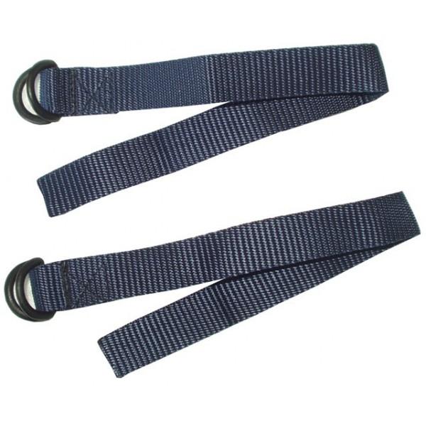 Textilní upínací pásek na 1 pár lyží