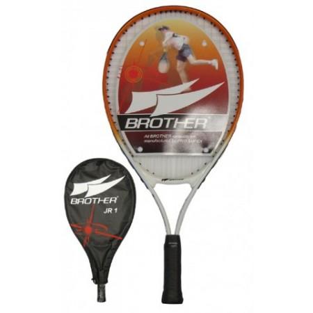Dětká tenisová raketa s pouzdrem, 55 cm