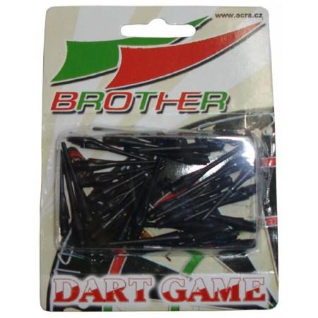 Náhradní plastové hroty k šipkám Brother, 30 ks